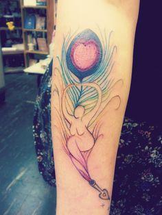 Wiccan Tattoos | goddess tattoo writing tattoo tattoos rainbow tattoo