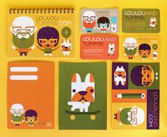 Loulou & Tummie  identity by Loulou and Tummie , via Behance
