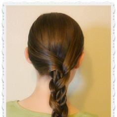 Mosaic Twist Braid Tutorial, Easy Hairstyles