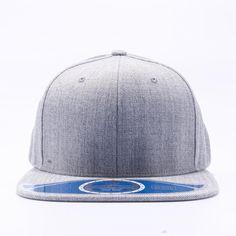 8c1065c0a742f Pit Bull Wool Blend Snapback Hats Wholesale  Heather  – Pit Bull Cap Custom  Embroidery