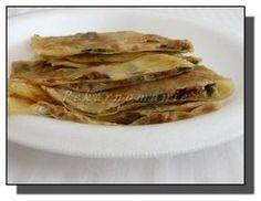 Gözleme (turecké placky) Spanakopita, Street Food, Ethnic Recipes, Drink, Pizza, Middle, African, Beverage, Drinking