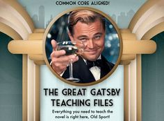 worksheets for great gatsby | Great Gatsby unit plan w/ LOTS of resources