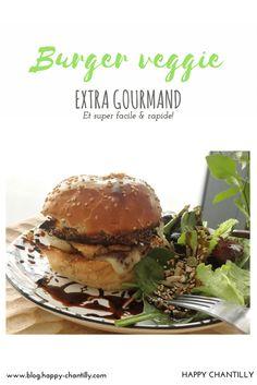 Burger veggie extra gourmand -