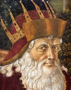 Benozzo Gozzoli, Melchiorre, one of the Three Kings