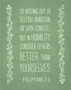 Philippians 2:3 III