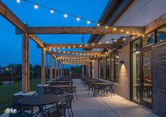 Outdoor Restaurant Patio Lighting Design - Omaha, Nebraska | McKay Landscape Lighting