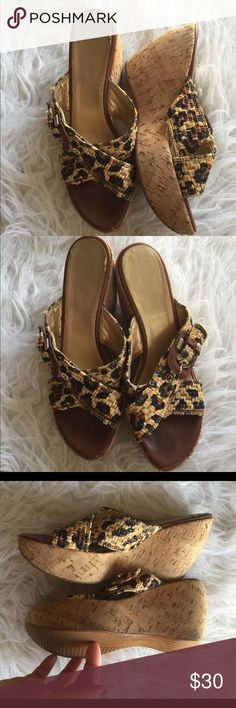 🆕 Stuart Weitzman animal print wedge sandals Very cute! Minor signs of wear as pictured; lots of life left. 👺NO TRADES DONT ASK! ✌🏼️Transactions through posh only!  😻 friendly home 💃🏼 if you ask a question about an item, please be ready to purchase (serious buyers only) ❤️Color may vary in person! 💗⭐️Bundles of 5+ LISTINGS are 5️⃣0️⃣% off! ⭐️buyer pays extra shipping if likely to be over 5 lbs 🙋thanks for looking! Stuart Weitzman Shoes Wedges