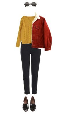 """yed"" by julietteisinthe80s on Polyvore featuring Topshop and Rachel Comey"