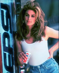 The Original Supermodels: Then and Now - Cindy Crawford, 26: THEN  I love this pic!