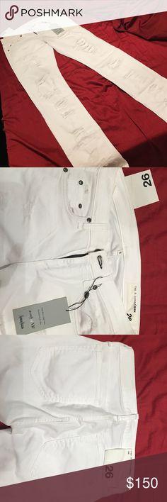 Rag & bone jeans white size 26 Brand new never worn. rag & bone Jeans Skinny