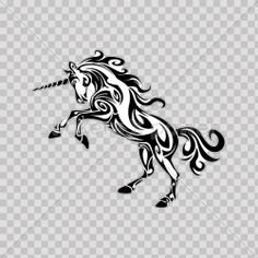 Decals Stickers Tribal Unicorn Car Helmet Window Bike Jet Ski 0500 10681 | eBay