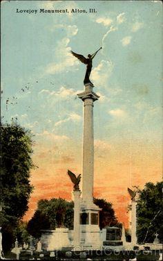 Lovejoy Monument Alton Illinois