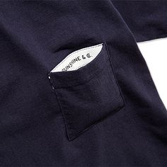 HEAVY WEIGHT POCKET TEE[NAVY] - 1LDK|ONLINE STORE