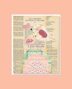 Baby+Girl+Nursery+Prints+NURSERY+ART+PRINTS+French+by+LittleMonde,+$16.00