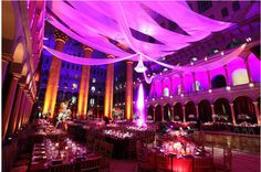 Shakespeare Theatre Gala decor by Syzygy Event Productions  www.SyzygyEvents.com  www.facebook.com/SyzygyEventProductions