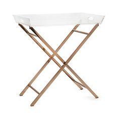 IMAX Clinton Acrylic Tray Table