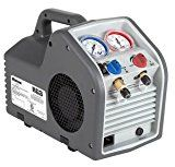 Robinair Portable Refrigerant Recovery Machine – for Both Liquid and Vapor Refrigerant Jump A Car Battery, Cross Flow, Recovery Tools, Flow Design, Electrical Connection, Safety Switch, Vacuum Pump, Air Conditioning System, Works With Alexa
