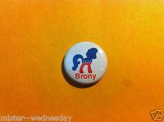 VOTE GEEK BRONY CAMPAIGN BUTTON MY LITTLE PONY 2012 MEME CUTE MARK Cartoon 1980s $2.50