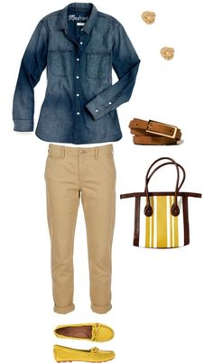 """A Casual Outfit Idea for Women Over 50 and 60"" by kimkperez on Polyvore"