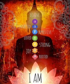 The chakras know...