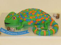 #Gecko #Cake