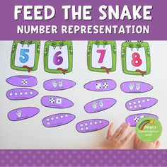FREE Number Representation Snake