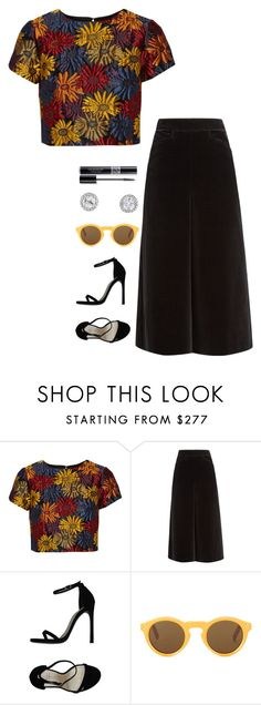 """Untitled #880"" by h1234l on Polyvore featuring Alice + Olivia, Yves Saint Laurent, Stuart Weitzman, CÉLINE and Christian Dior"