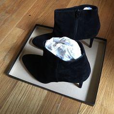 Jcrew Suede booties J. Crew Shoes Ankle Boots & Booties