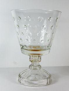 Depression Glass Trifle Bowl
