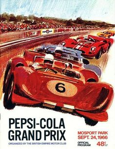 Mosport Grand Prix… 1966 program cover