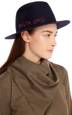 Magari Hat by Borsalino x Nick Fouquet   Moda Operandi