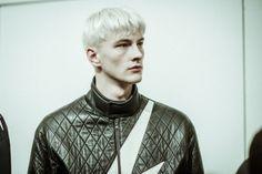 Benjamin Jarvis at Neil Barrett ❤️ Ivan Bubalo, Gilbert Beilschmidt, Neil Barrett, Critique, Backstage, Runway, Characters, Models, Fashion