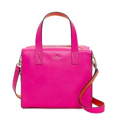 Kate Spade hot pink brightspot avenue little kennedy bag on sale! If only I  lived in the US!!