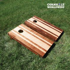 Check out Cornhole Worldwide's premier stained cornhole boards. They are made from high-quality wood with a gorgeous, hand-stained finish. Shop our boards and start playing cornhole today. Backyard Games, Outdoor Games, Outdoor Fun, Lawn Games, Outdoor Activities, Summer Activities, Big Backyard, Family Activities, Outdoor Decor