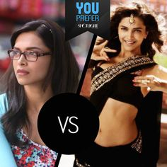We all know that, only #DeepikaPadukone can compete with #DeepikaPadukone when it comes to cute v/s sexy. Which one do you prefer?