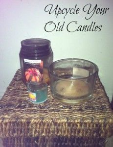 How to make your own DIY Candles by reusing your old ones!!! This is a great Money Saving Tip and perfect gift idea!