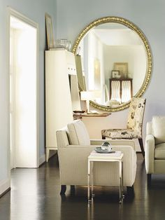 Like the secretary desk for the condo...large mirror placement would help me not feel so stuck in a corner