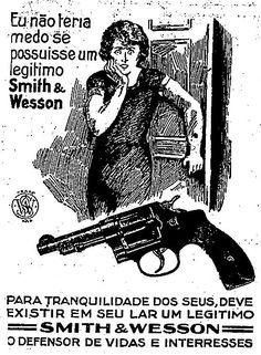 Propaganda das Armas Smith & Wesson em 1929