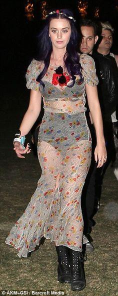 Cute as hell dress...    http://www.dailymail.co.uk/tvshowbiz/article-2129993/Coachella-2012-festival-fashion-Katy-Perry-dons-dress-credits-Courtney-Love.html