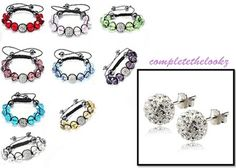 <3 New in stock Shamballa Crystal #Bracelets  Discover & Shop @ http://www.completethelookz.co.uk/shamballa-jewellery/shamballa-crystal-bracelets