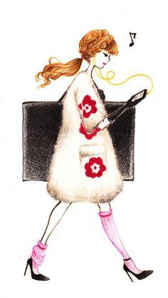 wearebizarre: Cirque du Papier Fashion Illustration