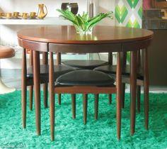 conjunto de mesa y sillas de hans olsen para frem rjle aos vendido