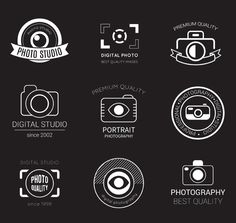 9 photography studio logo design vector material                                                                                                                                                     Mehr