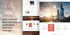 CARNA  One Page Multi-Purpose Parallax HTML Template
