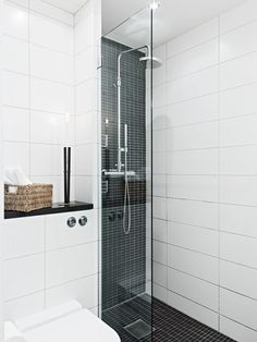 Great modern shower.