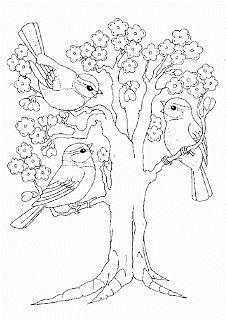 Jocuri pentru copii mari şi mici: Fişe şi planşe frumoase de colorat primăvara