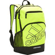 Image of adidas Rumble Backpack Solar Yellow Black - adidas Laptop Backpacks a886e3d50e