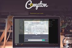 Compton es una plataforma web gratuita para realizar presentaciones de forma remota y, como es lógico, compartirlas con la audiencia por medio de una URL.
