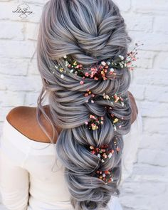 Fringe Hairstyles, Elegant Hairstyles, Latest Hairstyles, Easy Hairstyles, Wedding Hairstyles, Updo Styles, Long Hair Styles, Colorful Lace Front Wigs, Wedding Hair Inspiration