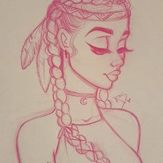 I really love me some cute tribal accessories so this is a look you'd see me in  So I'm thinking guys music is like a big part of when I draw so im probably gonna wip a soudcloud playlist for you guys because I be jammin out and maybe it will inspire you guys or just be something you guys would like to listen too! So stay tuned for that and much more! P.S. Happy first day of Summer guys! Also 3/4 are difficult! But with more practice one day i'll be able to teach it to you guys!...